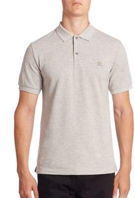 Burberry Oxford Cotton Pique Polo