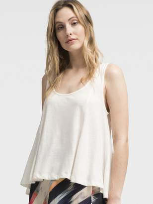 DKNY High-Low Scoop Neck Tank
