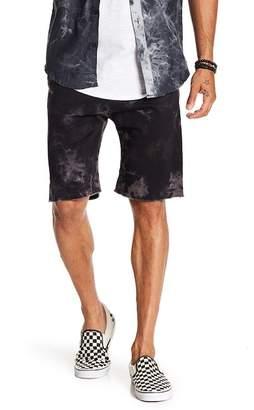 Public Opinion Acid Wash Jogger Shorts