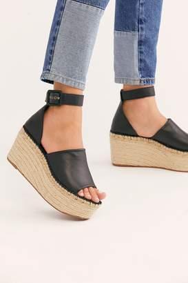 136a939d8f9c Black Platform Wedge Sandals For Women - ShopStyle UK