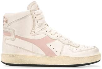 Diadora logo hi-top sneakers