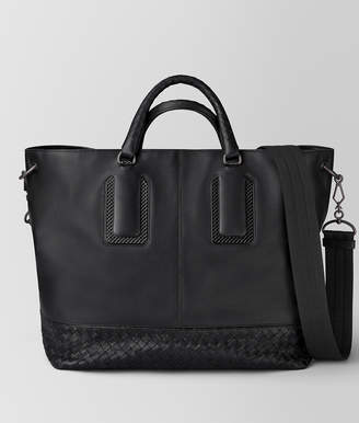 Bottega Veneta NERO FRENCH CALF NICOLO TOTE