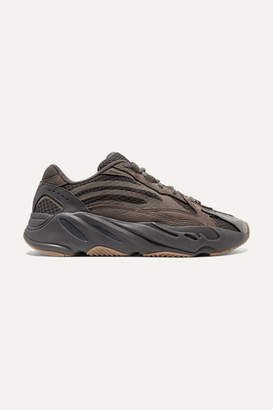 adidas Yeezy Boost 700 V2 Suede And Mesh Sneakers - Taupe