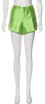 Ralph Lauren Black Label Silk Mini Shorts w/ Tags