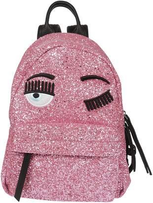 Chiara Ferragni Glitter Small Backpack