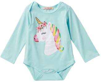 Paulinie Unicorn Romper (Baby Girls)