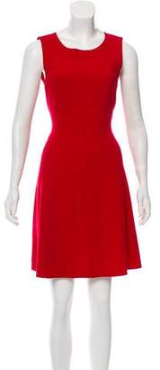 Armani Collezioni Sleeveless Wool Dress