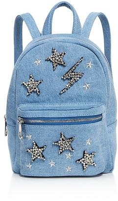 Studio 33 Denim Mini Backpack - 100% Exclusive $95 thestylecure.com