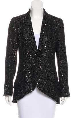 Chanel Sequined Tweed Blazer