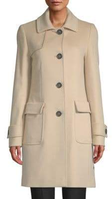 Cinzia Rocca Four-Button Wool Coat
