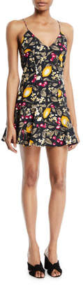 BA&SH Erik Lemons Sleeveless Flounce Dress