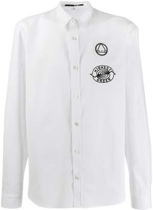 McQ rear-printed patch detail shirt