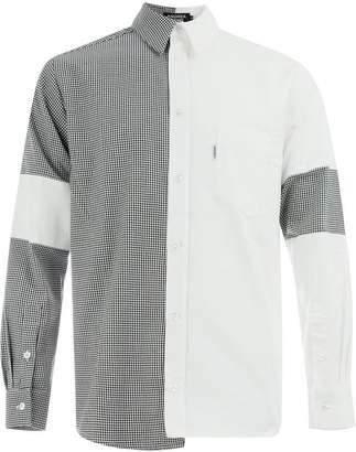 Andrea Crews two-tone shirt