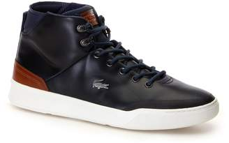 Lacoste Mens Explorateur Classic High-top Leather Trainers