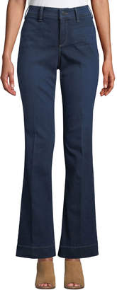 NYDJ Teresa Modern High-Rise Denim Trousers