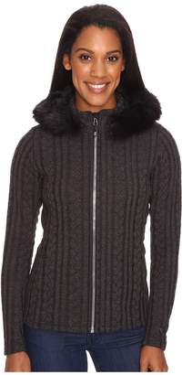 Obermeyer Sadie Cable Knit Jacket Women's Coat