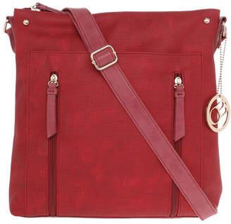 Wild Rose Zip Top Crossbody Bag