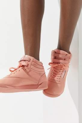 Reebok X GLOW Freestyle Hi Monochrome Sneaker