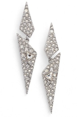 Women's Alexis Bittar Crystal Encrusted Dangling Drop Earrings $175 thestylecure.com