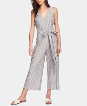 1 STATE 1.State 1.state Carousel Striped Belted Jumpsuit