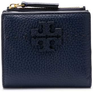 Tory Burch embossed logo wallet