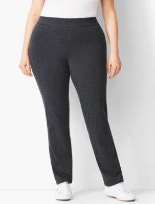 Talbots Everyday Full-Length Straight-Leg Yoga Pant