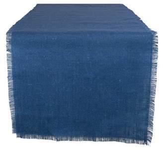 "Design Imports Jute Burlap Solid Table Runner, 48""x15"", 100% Jute, Multiple Colors/Sizes"