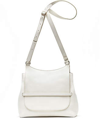 The Row Sideby Equestrian Leather Crossbody Messenger Bag
