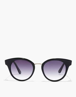 Madewell J.Crew Seaside Round Cat-Eye Sunglasses