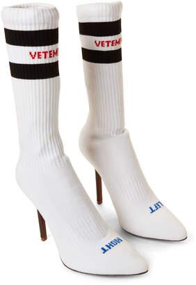 e301ea3124186f Vetements White Sexual Fantasies Sock Booties