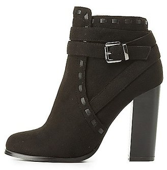 Wrapped & Buckled Ankle Booties $40.99 thestylecure.com