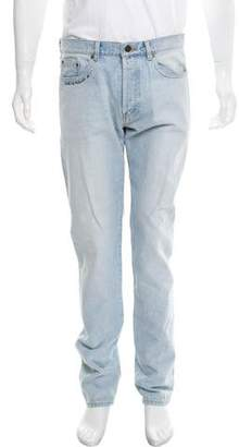 Saint Laurent 2017 Embroidered Skinny Jeans