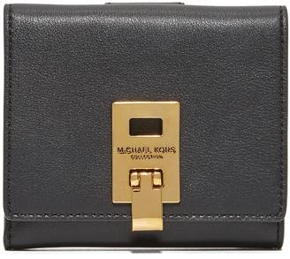Michael Kors Collection Miranda Flap Wallet $290 thestylecure.com