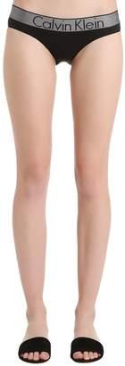 Calvin Klein Underwear Logo Band Nylon Briefs