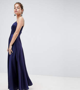 Asos Square Neck Cami Maxi Dress