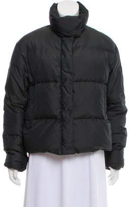 Post Card Quilted Puffer Jacket