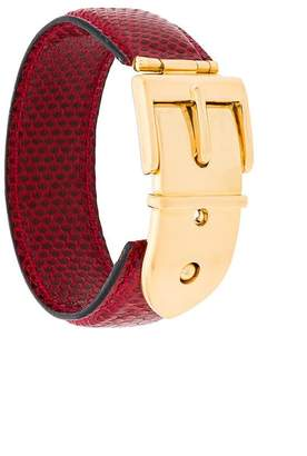 Gucci PRE-OWNED buckle belt bracelet
