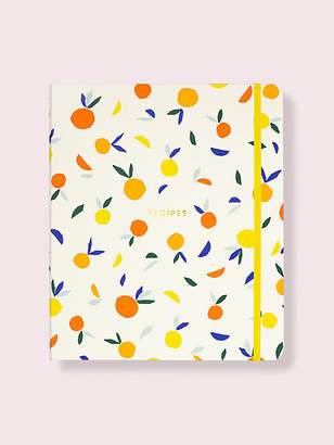 Kate Spade Citrus Twist Recipe Book, Orange