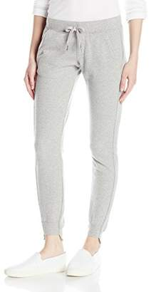 Pam & Gela Women's Off Set Cuff Sweatpant