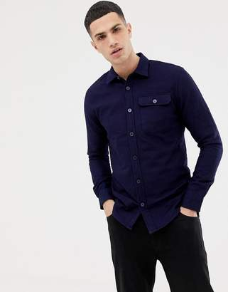 ONLY & SONS quilted overshirt in regular fit