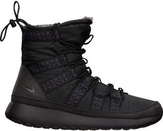 Nike Roshe Run Hi Sneakerboot Black (W)