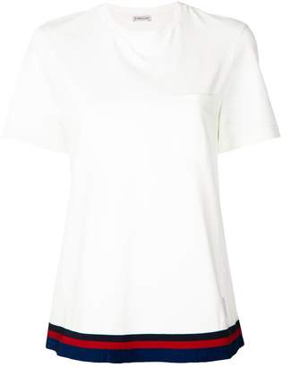 Moncler contrast-trim top