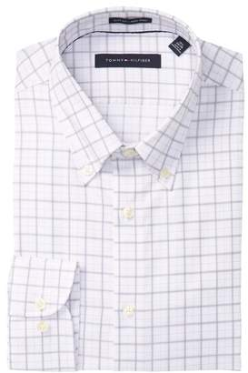 Tommy Hilfiger Grant Plaid Slim Fit Dress Shirt