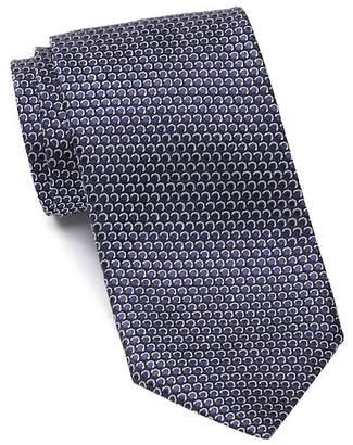 Ermenegildo Zegna Silk Circles Tie