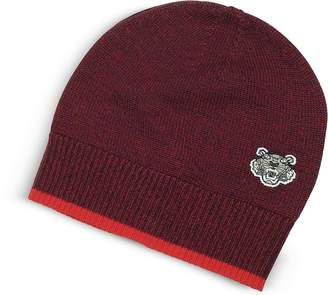 Kenzo Wool Signature Tiger Crest Beanie