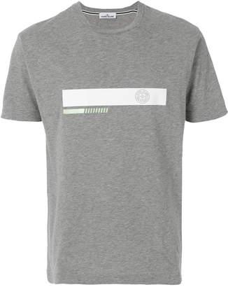 Stone Island logo stripe T-shirt