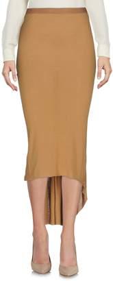 Rick Owens Lilies 3/4 length skirts