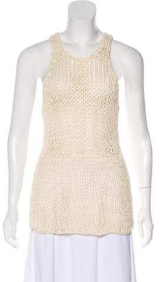 Vince Sleeveless Crochet Top