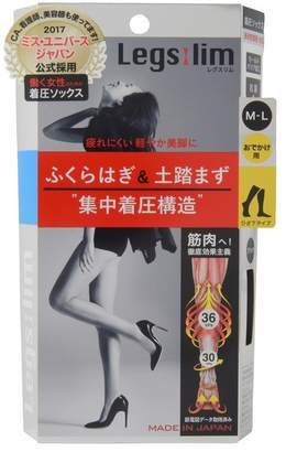 @cosme store online (アットコスメ ストア オンライン) - アットコスメストア オンライン 着圧ソックス ブラック(黒)M~Lサイズ