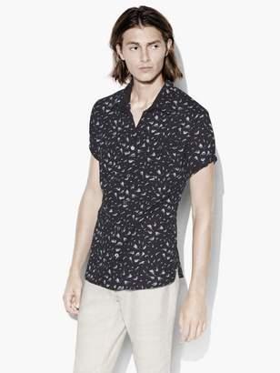 John Varvatos Abstract Print Shirt